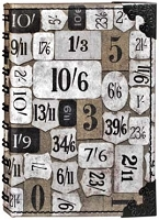 Tim Holtz Market District - Numeric Small Spiral Journal