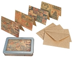 Tim Holtz Market District - Tidings Note Card Set
