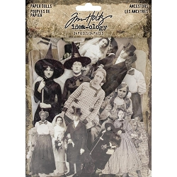 Advantus - Tim Holtz Idea-ology - Paper Dolls Ancestors