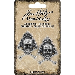 Advantus - Tim Holtz Idea-ology - Jolly Roger Adornments