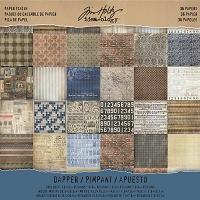 Advantus - Tim Holtz Idea-ology - Paper Stash Dapper (12