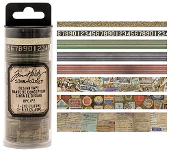 Advantus - Tim Holtz Idea-ology - Design Tape 8/pkg - Travel