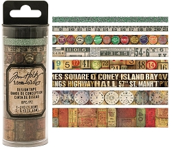 Advantus - Tim Holtz Idea-ology - Design Tape 8/pkg - Vintage