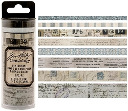 Advantus - Tim Holtz Idea-ology - Design Tape 8/pkg - French