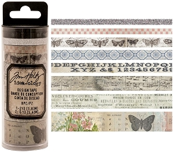 Advantus - Tim Holtz Idea-ology - Design Tape 8/pkg - Butterfly