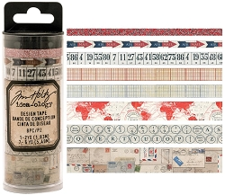 Advantus - Tim Holtz Idea-ology - Design Tape 8/pkg - Postal