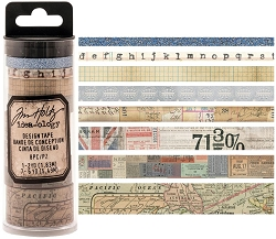 Advantus - Tim Holtz Idea-ology - Design Tape 8/pkg - Journey