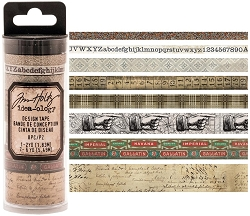 Advantus - Tim Holtz Idea-ology - Design Tape 8/pkg - Aristocrat