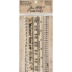 Advantus - Tim Holtz Idea-ology - Ruler Pieces