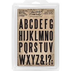 Advantus - Tim Holtz Idea-ology - Foam Stamps Block Uppercase