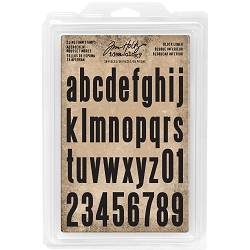Advantus - Tim Holtz Idea-ology - Foam Stamps Block Lowercase