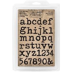 Advantus - Tim Holtz Idea-ology - Foam Stamps Type Lowercase