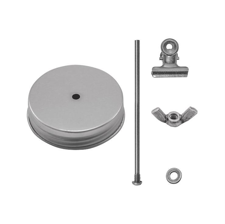Tim Holtz Idea-ology TH93351 Mini Mason Jar Photo Clip Kit