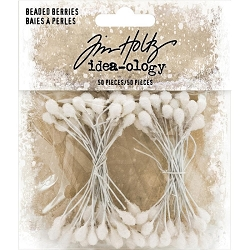 Advantus - Tim Holtz Idea-ology - Beaded Berry Stem