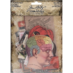 Advantus Tim Holtz Idea-ology - Halloween Ephemera Pack  (2019 version)