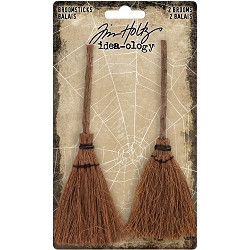 Advantus Tim Holtz Idea-ology - Broomsticks (2 pcs)