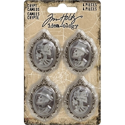 Advantus Tim Holtz Idea-ology - Crypt Cameos (4 pcs - 2019 version)