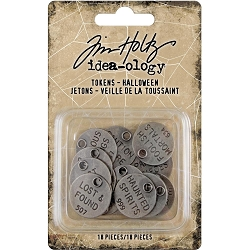 Advantus Tim Holtz Idea-ology - Halloween Tokens (2019 version)