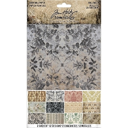 Advantus Tim Holtz Idea-ology - Halloween Worn Wallpaper