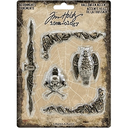 Advantus Tim Holtz Idea-ology - Halloween Accents Adornments