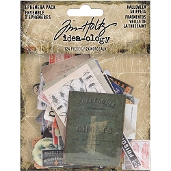 Advantus Tim Holtz Idea-ology - Halloween Snippets Ephemera (2019 version)