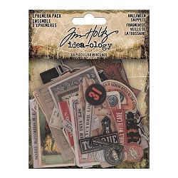Advantus Tim Holtz Idea-ology - Halloween Snippets Ephemera (2020 version)