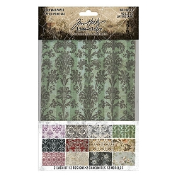 Advantus Tim Holtz Idea-ology - Halloween Worn Wallpaper (2020 version)