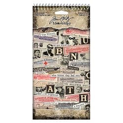 Advantus Tim Holtz Idea-ology - Curiosities Sticker Book (2020 version)