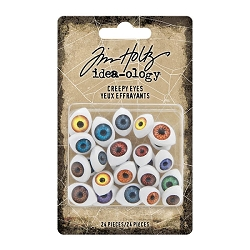 Advantus Tim Holtz Idea-ology - Creepy Eyes (24 pcs)