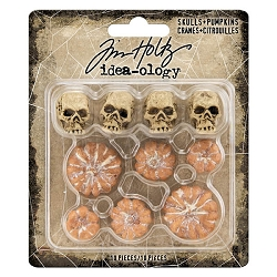 Advantus Tim Holtz Idea-ology - Skulls & Pumpkins (2020 version)