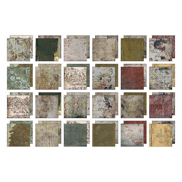 Abandoned Tim Holtz Idea-Ology 8 x 8 Paper Pad