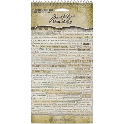 Advantus Tim Holtz Idea-ology - Clippings Sticker Book