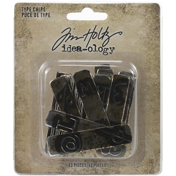 Advantus Tim Holtz Idea-ology - Type Chips