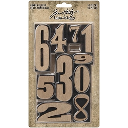 Advantus Tim Holtz Idea-ology - Number Blocks
