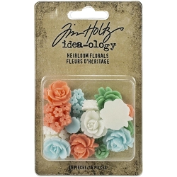Advantus Tim Holtz Idea-ology - Heirloom Florals