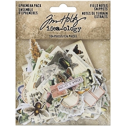 Advantus Tim Holtz Idea-ology - Field Notes Snippets Ephemera