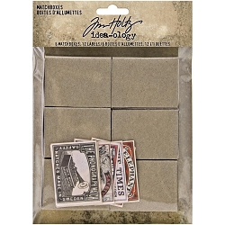 Advantus Tim Holtz Idea-ology - Match Boxes and Labels