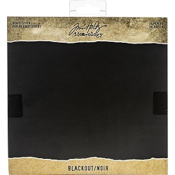 Advantus - Tim Holtz Idea-ology - Kraft Blackout 8