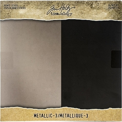 Advantus - Tim Holtz Idea-ology - Kraft Metallic #3  8
