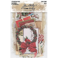 Advantus Tim Holtz Idea-ology - Christmas Ephemera Pack  (2019 version)