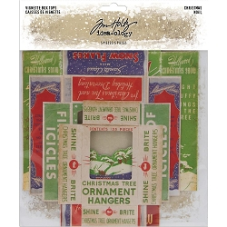 Advantus Tim Holtz Idea-ology - Christmas Vignette Box Tops (2019 version)