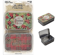 Advantus Tim Holtz Idea-ology - Christmas Trinket Tins (2019 version)