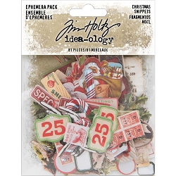 Advantus Tim Holtz Idea-ology - Christmas Snippets Ephemera (2019 version)