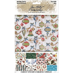 Advantus Tim Holtz Idea-ology - Christmas Worn Wallpaper (2019 version)