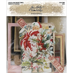 Advantus Tim Holtz Idea-ology - Christmas Layers and Baseboard Frames (2019 version)