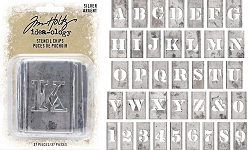 Advantus Tim Holtz Idea-ology - Stencil Chips Silver