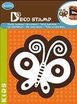 Aladine-Home Deco Stamp-Butterfly