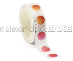 Alexandra Renke - Washi Tape - Red Color Dot (0.6
