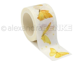Alexandra Renke - Washi Tape - Yellow Butterfly (1.2