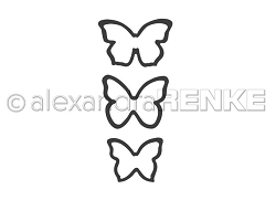 Alexandra Renke - Cutting Die - Small butterflies